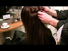 AWESOME VIDEO! Hair Extensions Great Lengths Cold Fusion Demonstration - London Covent Garden