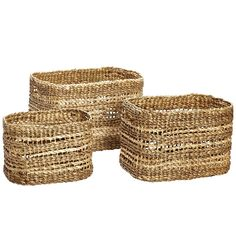 Water Hyacinth Basket Medium: These simply beautiful Water Hyacinth Baskets are a stunning Danish design with three generous sizes offering perfect storage solutions. We love the colour and patina of these excellent quality sturdy, natural baskets. Fill with towels and products in the bathroom for an attractive and practical display. Price is for one medium basket.