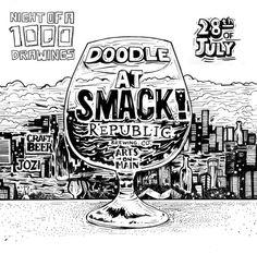 Doodle at Smack Republic