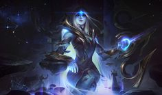 3 set illustration for the Cosmic skinline (League of Legends). Ashe the queen of the cosmos. Xin Zhao her Royal Guard keeping the balance of light and dark. Together they form the Cosmic Royal Court. I imagined Ashe Lol League Of Legends, Wallpaper Notebook, Hd Wallpaper, Wallpapers, Character Inspiration, Character Design, Fantasy Inspiration, Character Art, Photoshoot Inspiration