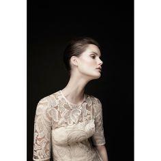 white lace against black background #zimmermann