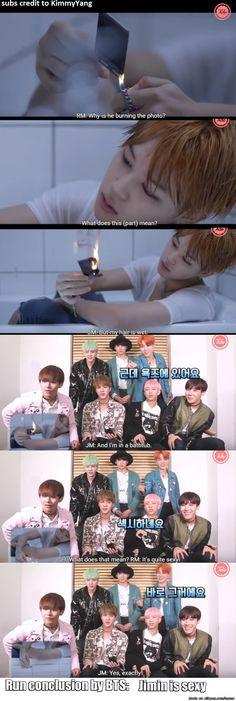 Run conclusion by BTS   allkpop Meme Center