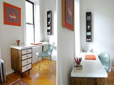 Workin' It: 15 DIY Desks You Can Build via Brit + Co.