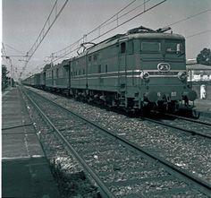 Locomotiva E645, costruita all'inizio anni '50 quando le Ferrovie dello Stato, esaurita la fase della ricostruzione postbellica, intrapresero la progettazione di locomotive di potenza in grado di fornire migliori prestazioni in termini di capacità di traino e di minori tempi di percorrenza.