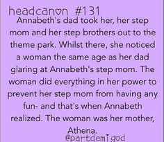 Percy Jackson headcanon with Annabeth and Athena Percy Jackson 2, Percy Jackson Head Canon, Percy Jackson Quotes, Percy Jackson Couples, Percy And Annabeth, Annabeth Chase, Percabeth, Solangelo, Heroes Of Olympus
