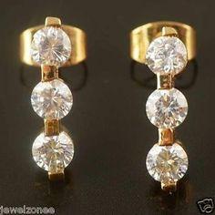 9k gold filled earrings