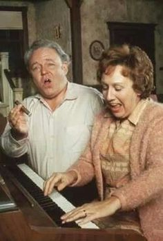 Archie Bunker and Edith