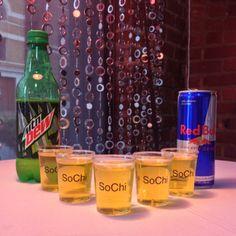 "SoChi ""Go-Go Juice"" for our trip to McIntyre, Ga to meet Honey BooBoo"