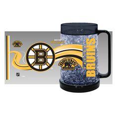 Boston Bruins Crystal Freezer Mug - Full Color