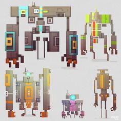Pixel Art - Spudonkey Design:
