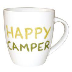 #JamieOliver #Mug #HappyCamper http://www.palmerstores.com/product/jamie-oliver-cheeky-mug-happy-camper/821/