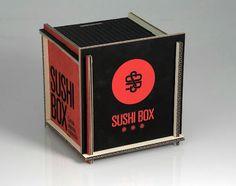 Sushi Box Packaging / Student Work – Sergio Ortiz Ruiz