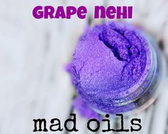 One of our favorite micas that works beautifully in all soap!  :)   #purple #mica #madoils #soapmaking