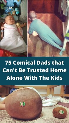 These comical dads cant be trusted to be alone with their kids!