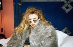 Natasha Lyonne in Baja East