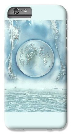 Turquoise Dream IPhone 7 Plus Case Printed with Fine Art spray painting image Turquoise Dream by Nandor Molnar (When you visit the Shop, change the orientation, background color and image size as you wish)
