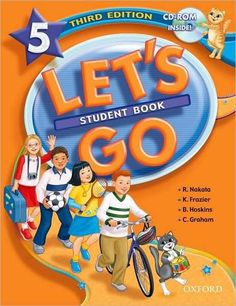 Oxford Let's Go 5 Student Book Third Edition – Sách gáy xoắn, 70000 English Books For Kids, English Speaking Book, Learning English For Kids, English Teaching Resources, English Study, Learn English, Efl Teaching, English Grammar, Teaching Ideas