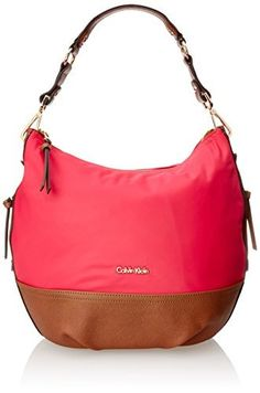 Buy Calvin Klein Nylon Hobo securely online today at a great price. Calvin  Klein Nylon Hobo available today at Designer Bags Depot. e99d5767ca6d5