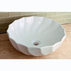Vitreous White China Single Basin Vessel Sink - Overstock™ Shopping - Great Deals on Bathroom Sinks