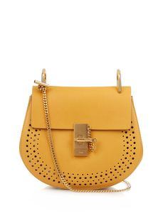 Drew small leather cross-body bag | Chloé