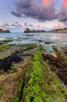 Sunset. Atardecer. Capvespre. Playa de Cerrias. Costa Quebrada  #Cantabria #Spain