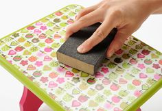 How to Decoupage: 7 Steps to Perfect Mod Podging - Mod Podge Rocks Mod Podge Crafts, Diy Mod Podge, Fun Crafts, Diy And Crafts, Arts And Crafts, Paper Crafts, Mod Podge Ideas, How To Mod Podge, Diy Projects To Try