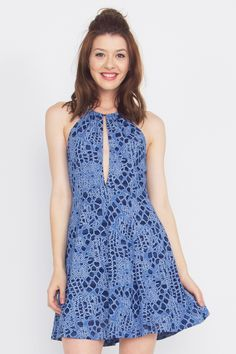 Chrissy Dress $42.57 Gorgeous violet dress with a peekaboo opening in the front.