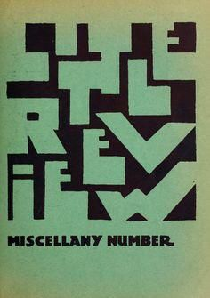 The Little Review miscellany number via @IMargolius