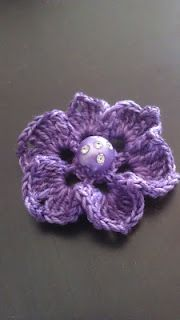 Crochet flower. For my crochet friends #afs 7/5/13