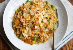 Risotto is always a crowd pleaser and this winter recipe will keep the whole family warm during the cold nights.