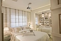 Blog de arquitetura, design de interiores, decoração e imóveis Parents Room, Design Trends, Faria Lima, Minimalism, Sweet Home, Design Inspiration, Sleep, Lights, Bedroom