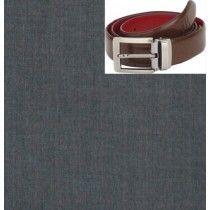 Raymond Black Trouser Fabric With Free Belt