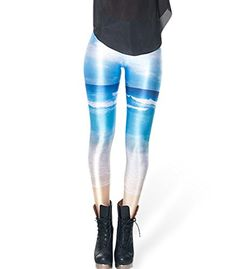 ABUSA Women's Digital Print Workout Running Tight Leggings Blue Sky Pattern *** Learn more by visiting the image link. Running Tights, Tight Leggings, A Boutique, Fashion Brands, Digital Prints, Stylists, Topshop, Fashion Outfits, Workout