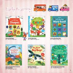 Toddler Books from Usborne Books and More www.myubam.com/c4269
