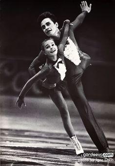 Katia Gordeeva & Sergei Grinkov, 1986