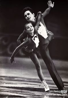 Ekaterina Gordeeva and Sergei Grinkov (Russia), 1986