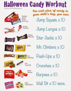 Halloween Candy Workout