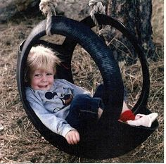 Tire Swing (Had one of these at my grandmothers house as a child)  Love the Memory of it!!!