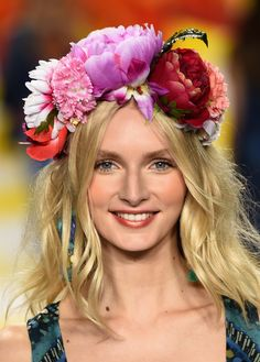 Flower Crowns at Desigual