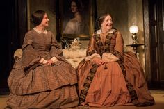 Karen McCartney and Marion O'Dwyer in The Heiress by Ruth and Augustus Goetz, based on the novel Washington Square by Henry James. Picture by Pat Redmond Washington Square, Dublin City, Online Tickets, Theatre, Novels, Dresses, Fashion, Vestidos, Moda