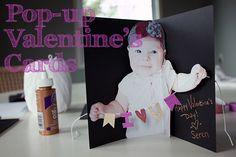 Pop-up Photo Valentine's Day Card