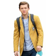 Spideman Homecoming Yellow Jacket #SpidemanHomecoming #Yellow #Jacket #Movie Jackets #MovieJacketsCasual #Outfit #Movie #Jackets Street #Styles