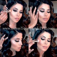 """✨#DressYourFaceLIVE UPDATE✨ Last night's GLOW makeup class with Leyla Milani is now UP on your member pages on dressyourfacelive.com!!!  I shared a gazillion secrets on how I give my clients the bronzed goddess look, that J-Lo glow, and the most beautiful cheek color effects with blushes, PLUS I answered a bunch of questions during the LIVE Q&A at the end  If you are a member, simply sign in and access your """"ACCOUNT"""" page to view! As always, you have a full 72 hrs to review the class ..."""