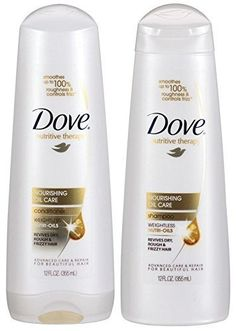 Dove Nutritive Therapy, Nourishing Oil Care, DUO Set Shampoo   Conditioner, 12 Ounce, 1 Each -- More info could be found at the image url.