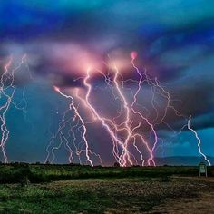 Mother Nature's Fireworks !