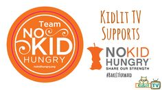 KidLit TV is proud to say we support No Kid Hungry a campaign to end child hunger in America! Find out what we're doing to to show our support!