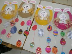 velikonoční tvoření s dětmi - Hledat Googlem Easter Art, Easter Crafts For Kids, Easter Eggs, Easter Activities, Preschool Crafts, Activities For Kids, Ester Crafts, Class Decoration, Marianne Design