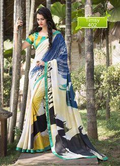 Pakistani Dress Bollywood Saree Partywear Designer Wedding Indian Ethnic Sari #TanishiFashion #DesignerSaree