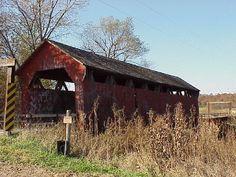 One of the Bridges in Madison County Iowa