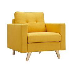 Graham Armchair in Yellow | dotandbo.com